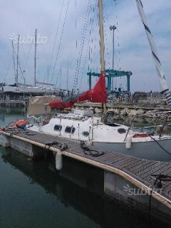 Boat/camping barca a vela 9mt