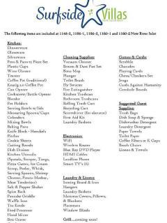 Inventory List