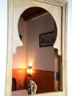 en-suite twin bedroom on the second floor view from the inner corridor