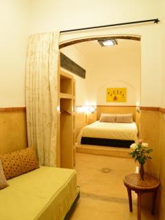 big double en-suite bedroom on the first floor
