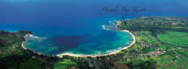 Location of Hanalei Bay Resort
