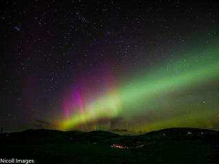 North Lights over Kirriemuir. A photo taken by Bill Nicoll