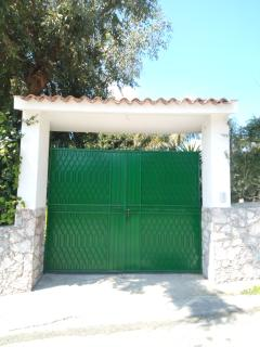 L'ingresso della struttura.