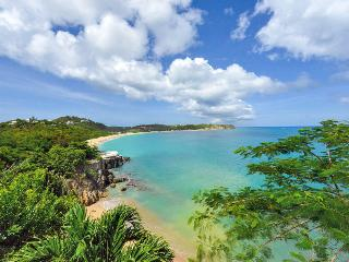 POINTE DES FLEURS...4 BR with private, secluded sandy beach, St-Martin/St Maarten