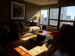 Furnished 1-Bedroom Condo at N Wabash Ave & E Huron St Chicago