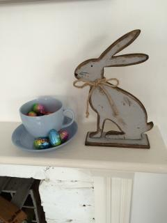 The Easter bunny visits Bembridge
