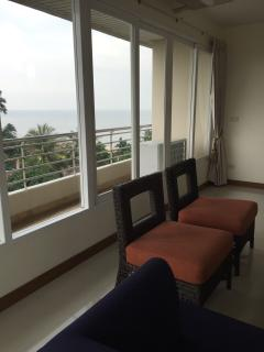 All the rooms have sea views from the North side