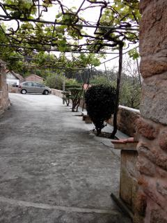 entrada a la casa