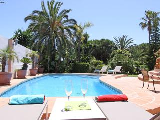Beachside modern family Villa heated pool large outdoor area and amazing garden, Elviria