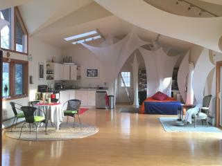 for the creative spirit, lightfilled loft house, Ulster Park
