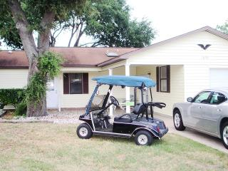 Two Golf Carts!!!  Spacious Furnished 2 Bed/2Baths
