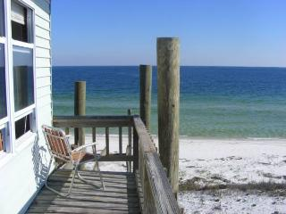 Dog Island Beach Front Home Gulf Coast Florida, Carrabelle