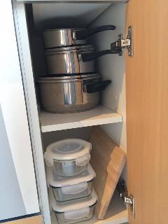 Podrás cocinar en las sartenes, cazuelas y otros utensilios de cocina.