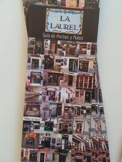 Guía de pinchos y platos de la típica Calle Laurel.