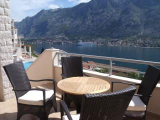 Stunning Views Of Kotor Bay from Balcony and Pool, Muo
