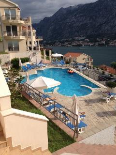 Main Pool from Apartment Balcony
