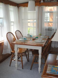 Dining room off living area