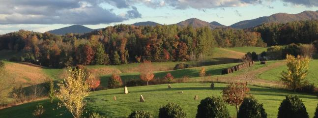 Brittany's Mountain Retreat~View from the back deck~