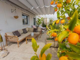Una inmensa terraza para disfrutar de unas vacaciones de lujo