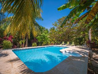 Tropical Garden Villa - 300' From Beach - Sleeps 6, Roatán