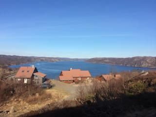 Holliday home at Korshamn with Panoramic view, Lyngdal Municipality