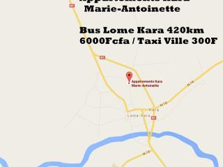 Appartement Kara Marie-Antoinette, Lome