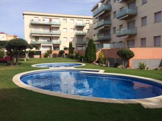 Apartamento Cambrils con piscina y gran terraza