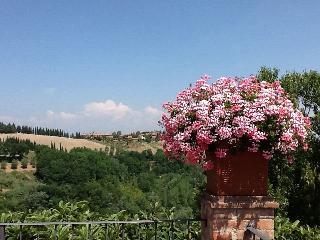 Romantica terrazza sulle colline in Toscana, Montaione