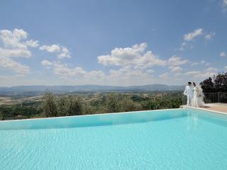 Villa privata con piscina panoramica Cafaggio I°, Loro Ciuffenna