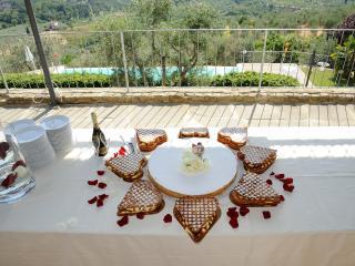 Villa privata con piscina panoramica Cafaggio Io