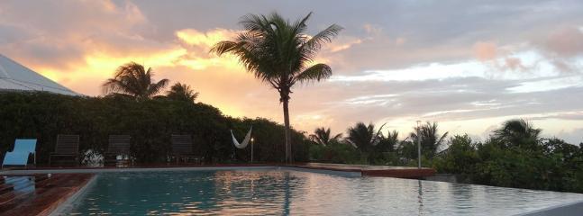 Coucher de soleil à la Barbadine