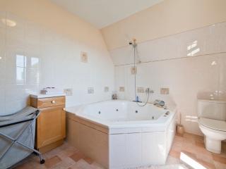 Luxe badkamer, jacuzzi