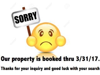 SORRY ** CURRENTLY BOOKED thru 3/31/17, Oldsmar
