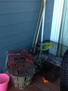 Crab Traps Provided