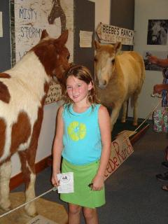 Visiting Misty & Stormy at Museum of Chincoteague