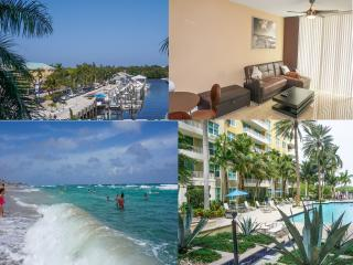 Luxury Beach Apartment-ocean view-beach 5 min walk, Boynton Beach