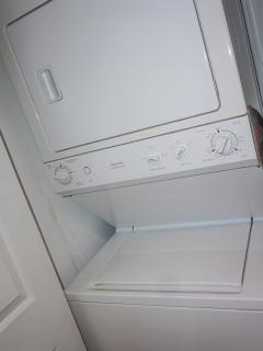 Washer/dyer combo in your apartment.