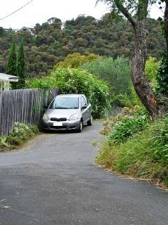 You can park your car on the side road used by ourselves and our 2 neighbours.
