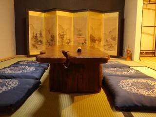 """Serendipity at Kyoto"", traditional & modern Japanese home near Imperial palace, Kioto"