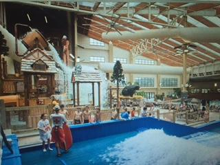 Indoor water park