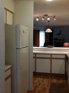 Kitchen (Fully Stocked Kitchen)  Ice Maker, Microwave, Stove, Dishwasher and More