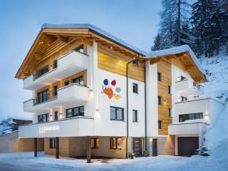Große, helle und moderne Ferienwohnungen in Ischgl