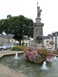 Cleguerec, the nearest village