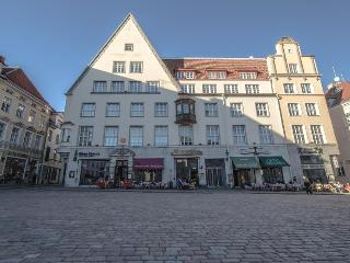 Two bedroom apartment located on the main square, Tallin