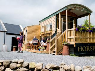 Burren Glamping - an Irish cottage on wheels