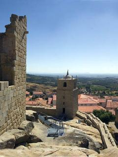 Castle at Castelo Novo