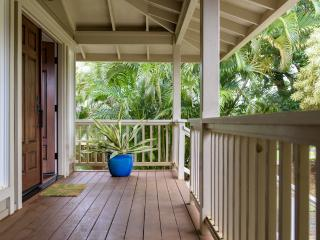 Newly renovated Princeville 4-bedroom home with oceans views!