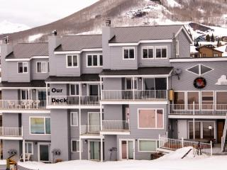 Beautiful ski in/out condo at the base area!  Hot tub!  Steps to Shuttle, Crested Butte