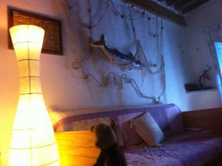 'La Estrella de mar' en Níjar,  WIFI, y Patio. Para 1,2 o 3 personas