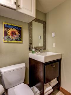 Additional 1/2 Bathroom